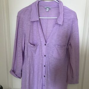 Express lavender top, large
